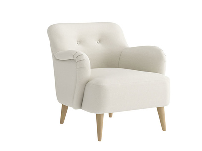 Oat Brushed Cotton Diggidy Chair