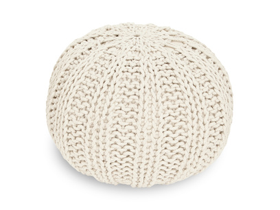 212872 bug pouffe in oat small knitted pouffe f