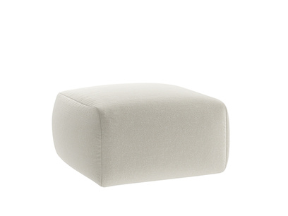 Oat Brushed Cotton Layabout Footstool
