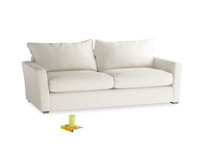 Medium Pavilion Sofa Bed in Chalky White Clever Softie