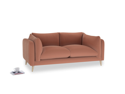 Medium Slow-Mo Sofa in Pinky Peanut Plush Velvet