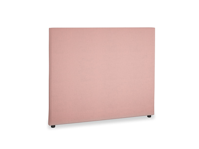 Double Piper Headboard in Vintage Pink Clever Velvet
