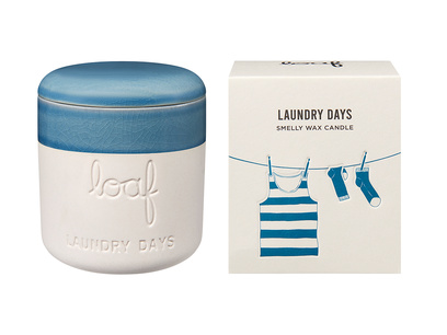Laundry Days - natural wax scented candle