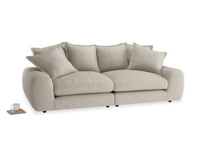 Medium Wodge Modular Sofa in Thatch house fabric