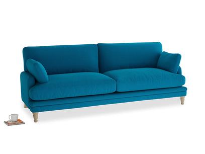Large Squisharoo Sofa in Bermuda Brushed Cotton