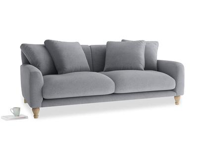 Large Bear Hug Sofa in Dove grey wool