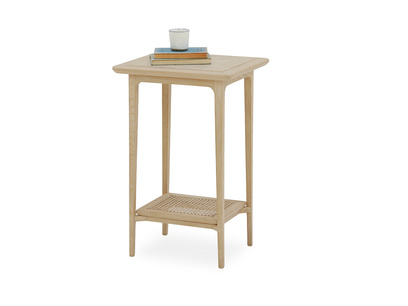 Blaise handmade oak bedside table prop