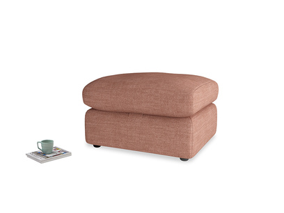 Chatnap Storage Footstool in Dried Rose Clever Laundered Linen