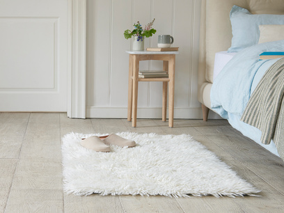 Wilder bedside rug in Natural