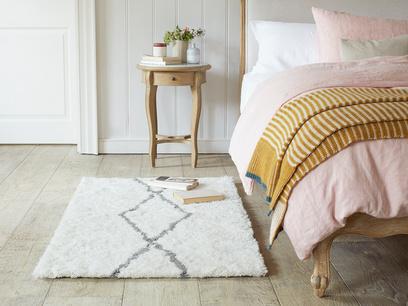 Casbah bedside woven rug