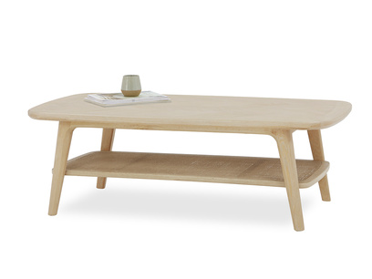 Throwback Coffee Table with Oak Top