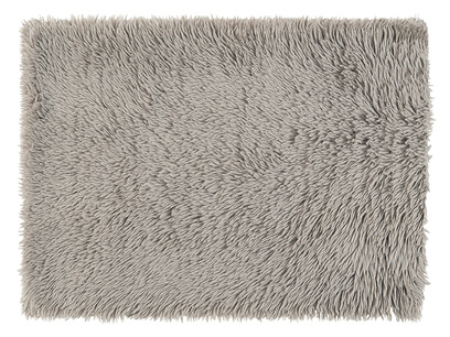 Wilder handmade living room rug in Grey