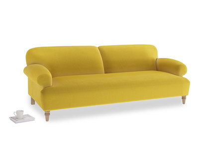 Large Easy-Peasy Sofa in Bumblebee clever velvet