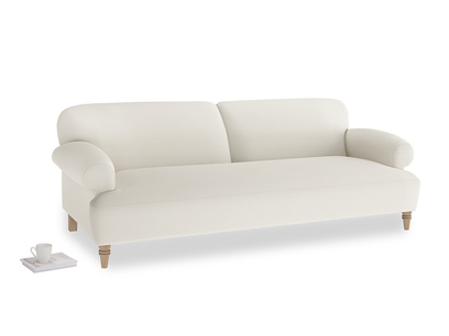 Large Easy-Peasy Sofa in Chalky White Clever Softie
