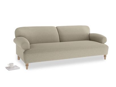 Large Easy-Peasy Sofa in Jute vintage linen