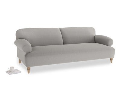 Large Easy-Peasy Sofa in Wolf brushed cotton
