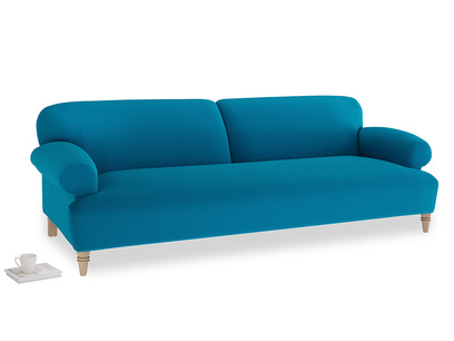 Extra large Easy-Peasy Sofa in Bermuda Brushed Cotton