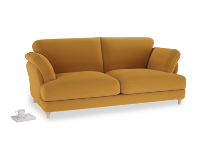 Large Smithy Sofa in Burnished Yellow Clever Velvet