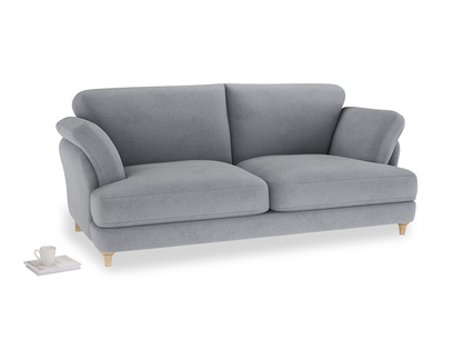 Large Smithy Sofa in Dove grey wool