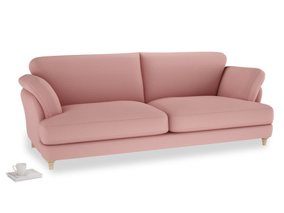 Extra large Smithy Sofa in Dusty Pink Vintage Linen