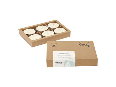 Summer Holiday smelly wax drops box open