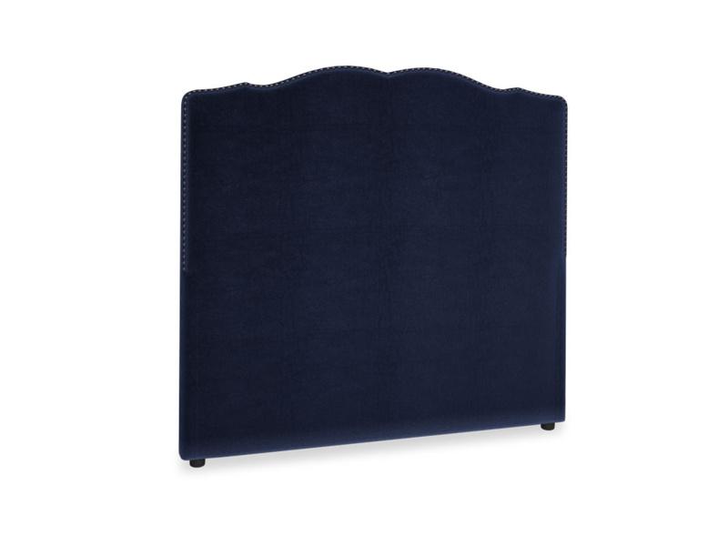 Double Marie Headboard in Midnight plush velvet