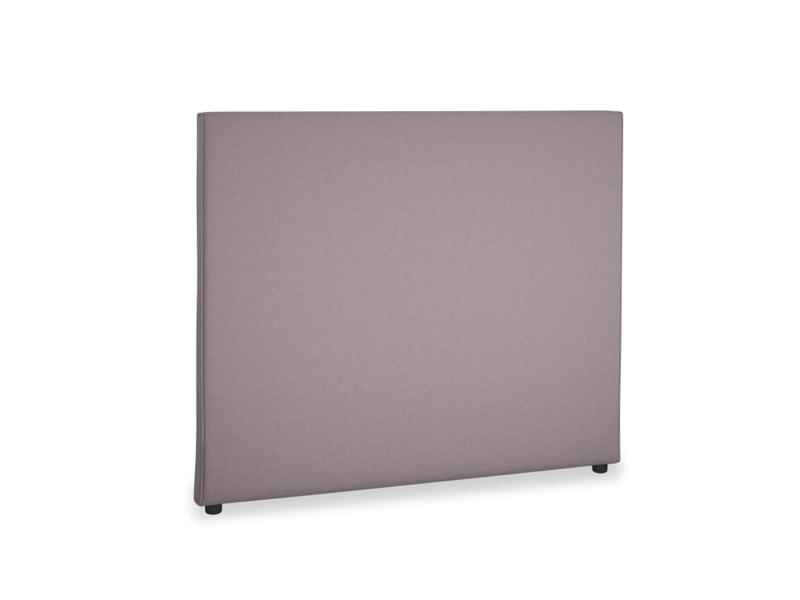 Double Piper Headboard in Lavender brushed cotton