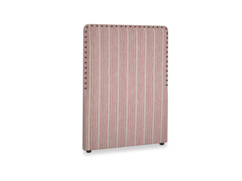 Single Smith Headboard in Red french stripe
