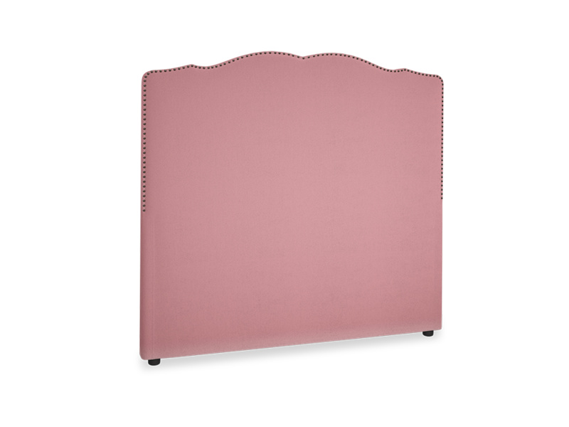 Double Marie Headboard in Dusty Rose clever velvet