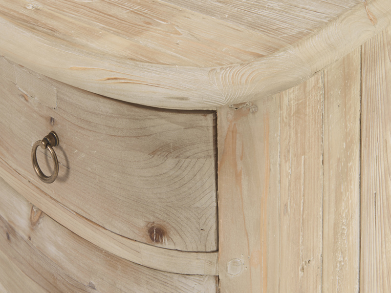 Reclaimed French Aurelie bedroom chest of drawers