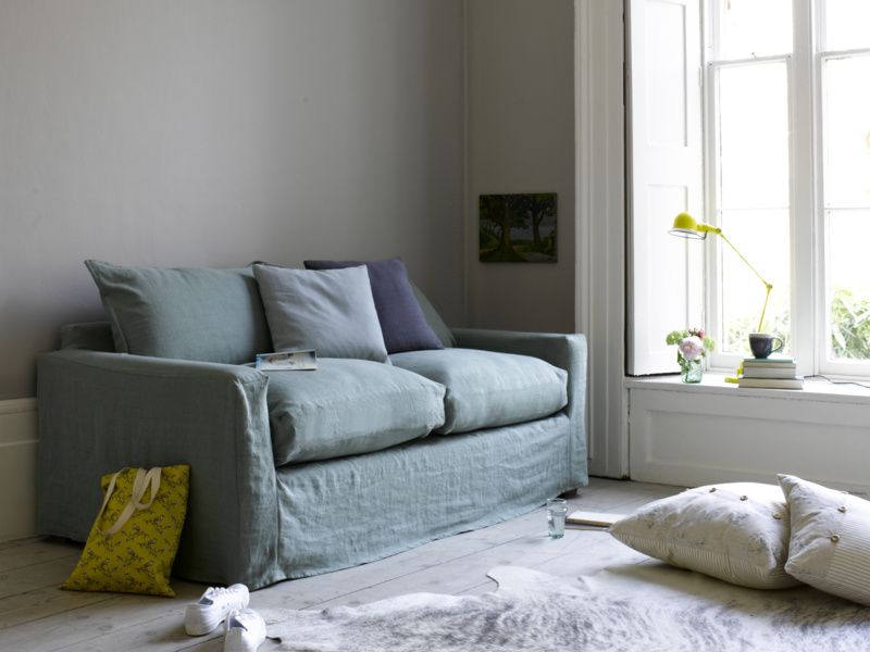 Contemporary luxury Pavilion sofa, extra deep and comfy handmade in Britain