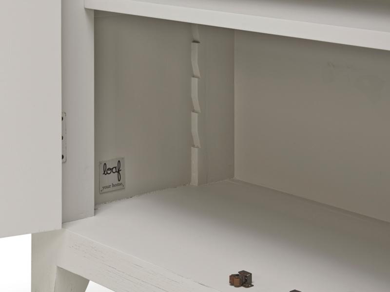 Wooden kitchen Rhubarb larder cupboard
