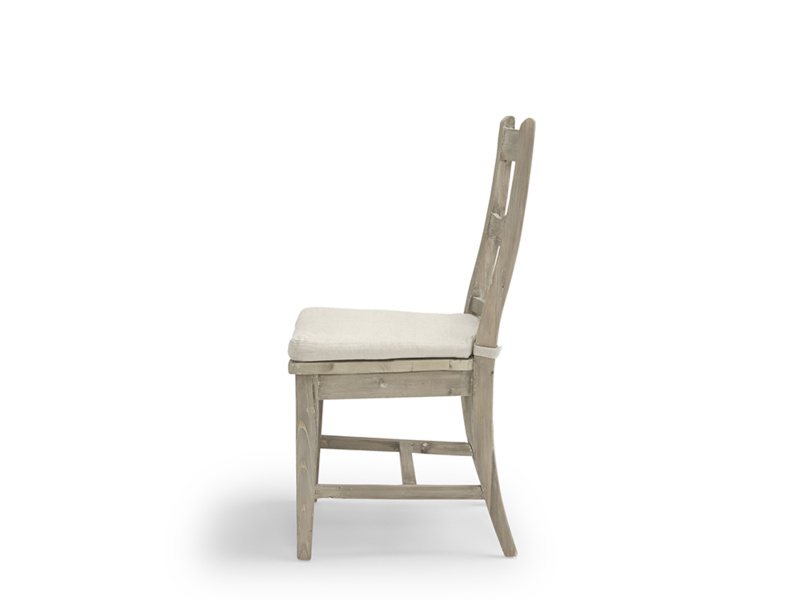 Extremely comfortable classic design Chinwag Beached farmhouse kitchen chair