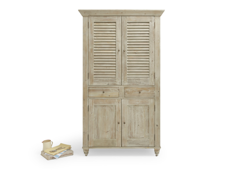 Super Sucre French style kitchen larder cupboard