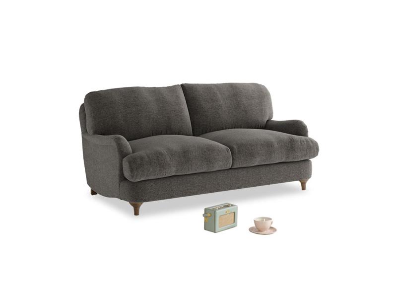 Small Jonesy Sofa in Shadow Grey wool