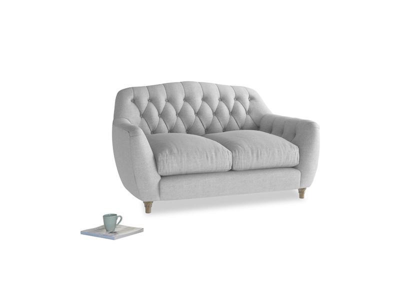 Small Butterbump Sofa in Cobble house fabric
