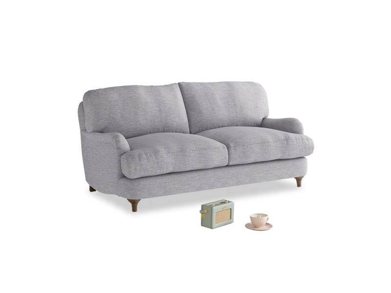 Small Jonesy Sofa in Storm cotton mix
