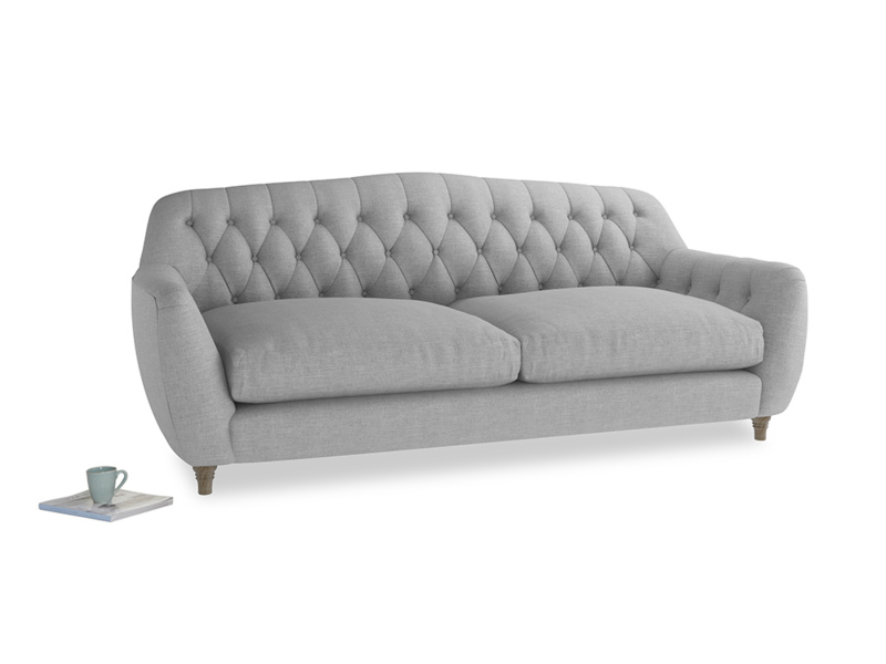 Large Butterbump Sofa in Cobble house fabric