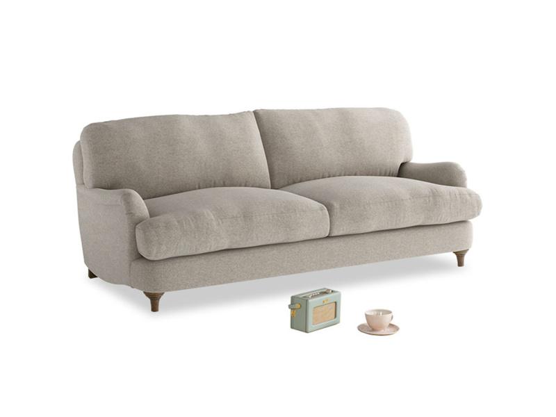 Medium Jonesy Sofa in Birch wool
