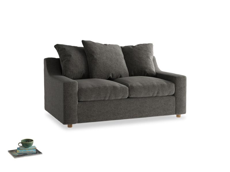 Small Cloud Sofa in Shadow Grey wool
