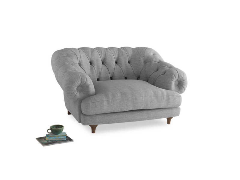 Bagsie Love Seat in Mist cotton mix