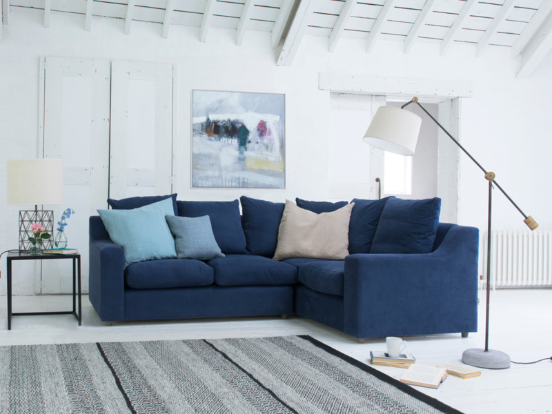 British made extra comfy Cloud corner sofa bed
