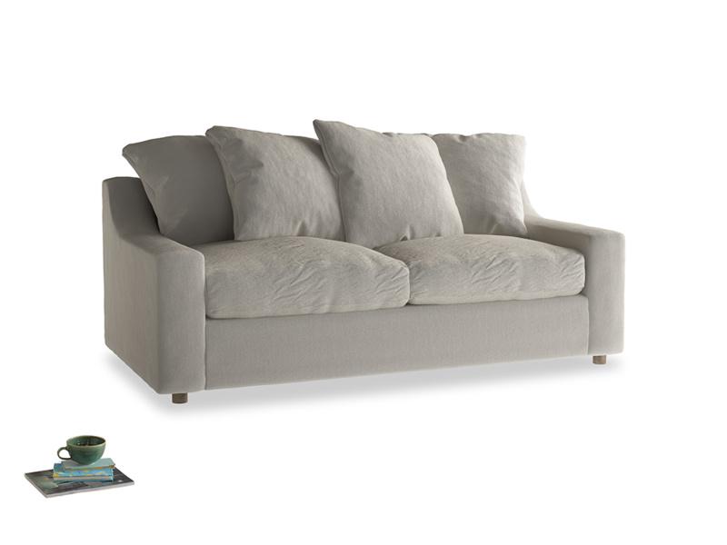 Medium Cloud Sofa Bed in Smoky Grey clever velvet