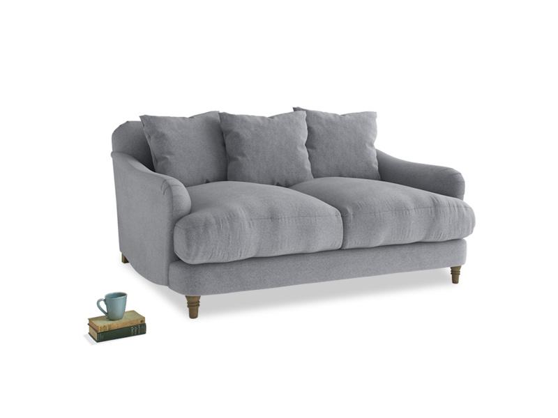 Small Achilles Sofa in Dove grey wool