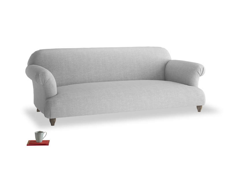 Large Soufflé Sofa in Cobble house fabric