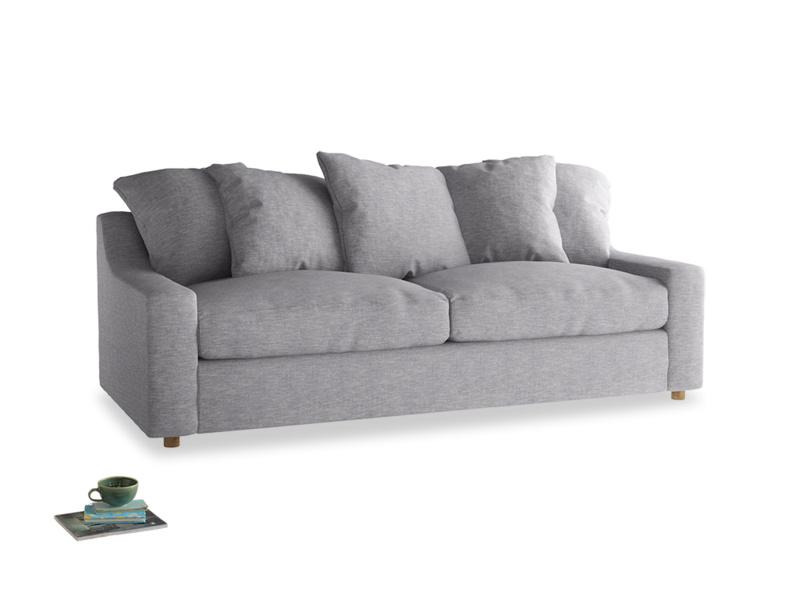 Large Cloud Sofa in Storm cotton mix