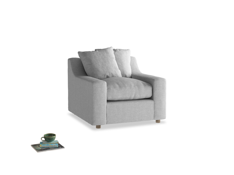 Cloud Armchair in Cobble house fabric
