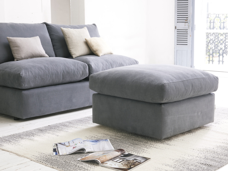 Storage Chatnap upholstered sofa footstool