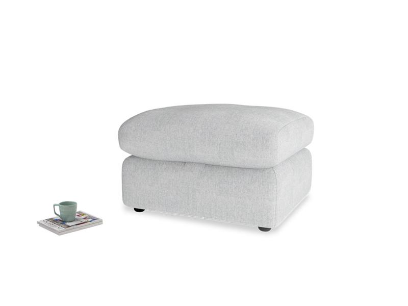 Chatnap Storage Footstool in Pebble vintage linen