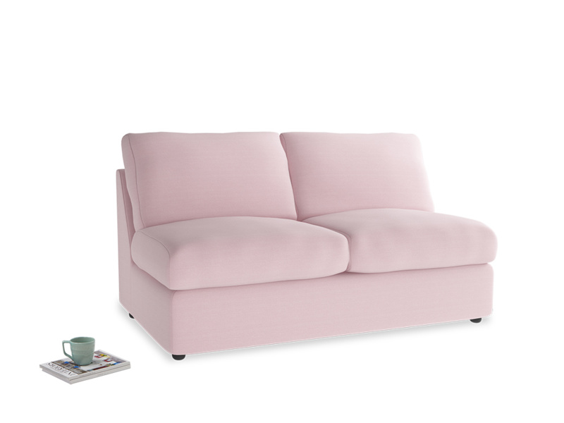 Chatnap Sofa Bed in Pale Rose vintage linen